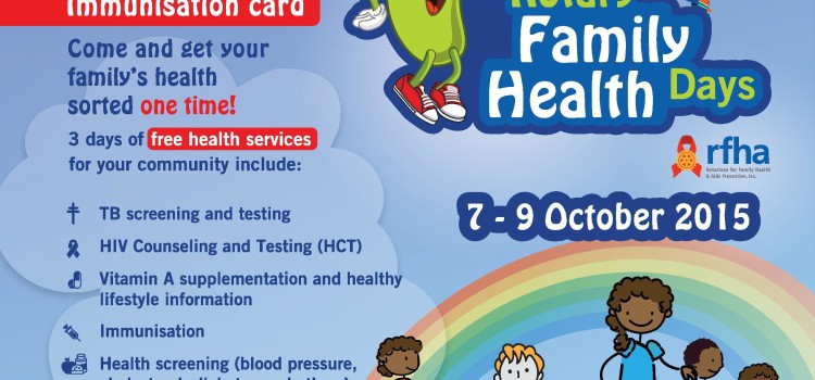 Rotary Family Health Days: Big in every sense of the word